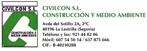 CIVILCON, CONSTRUCCIONES Y MEDIO AMBIENTE
